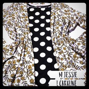 Lularoe Jessie and Caroline outfit